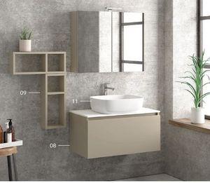 ITAL BAINS DESIGN - space 80 laque - Bathroom Furniture