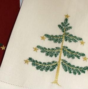 Noel - sapin - Guest Towel