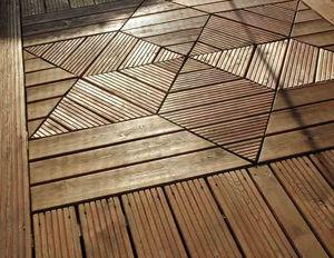 MELEZE DE SIBERIE -  - Terrace Floor