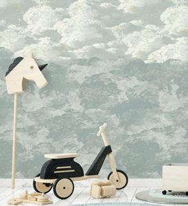 ISIDORE LEROY - cosmos jour- - Children's Wallpaper