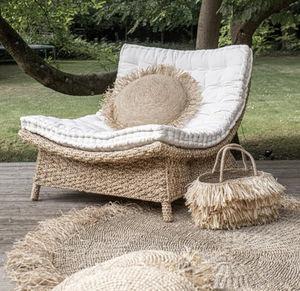 ROTIN ET OSIER -  - Garden Armchair