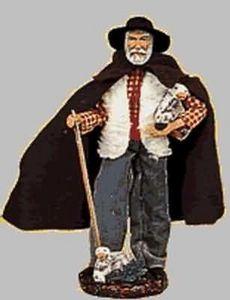 Sylvette Amy santons - berger / shepherd - Christmas Figurine
