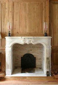 Materiaux Anciens Labrouche Fils - regence - Fireplace Mantel