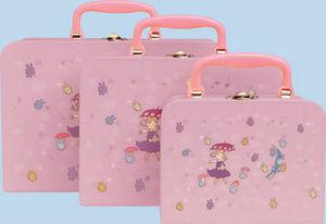 Trousselier - fille parapluie - Doll Suitcase
