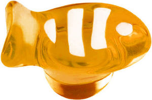 L'AGAPE - bouton de tiroir poisson 3 bandes - Children's Furniture Knob