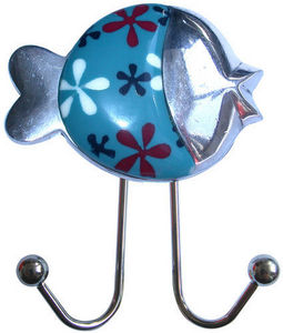 L'AGAPE - ventouse poisson rond - Children's Clothes Hook