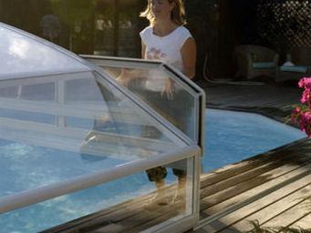 Abrideal - brio tco - Sliding/telescopic Pool Enclosure