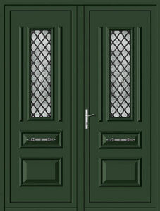 Aluporta -  - Double Front Door