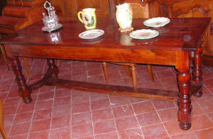 Antiquites Le Vieux Moulin -  - Rectangular Dining Table