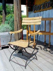 1864 -  - Folding Garden Armchair