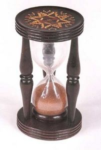 AMHERST ANTIQUES -  - Hourglass