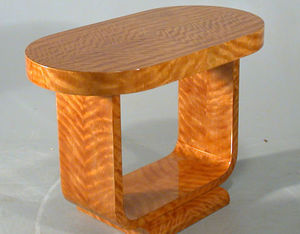 Galalithe -  - Pedestal Table