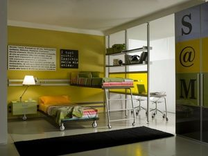 Cia International - letto castello moderno - Children Bunk Bed