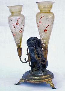 Antiquités Eric de Brégeot -  - Stem Vase