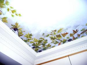 sandrine takacs decors -  - Ceiling Fresco