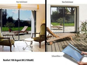 Variance store - renfort 100 argent 80 - Security Window Film