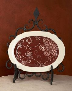 Bella Toscana -  - Plate Stand