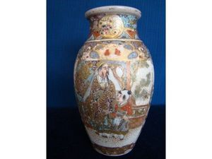 ANTIQUE AND NATURAL CURIOSITIES DI VIRTUDAZO MARIA THERESA - vase satsuma - Decorative Vase