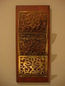 Serpentine Antiques -  - Wall Mounted Letter Sorter