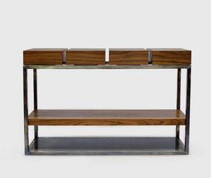 BRABBU - cassis - Console Table