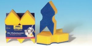 a&n&a aQualine - arrow sponge - Kitchen Sponge