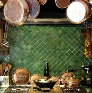 Habibi Moroccan -  - Enamelled Terra Cotta Tile
