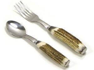 Abbeyhorn - stag antler - Children's Cutlery
