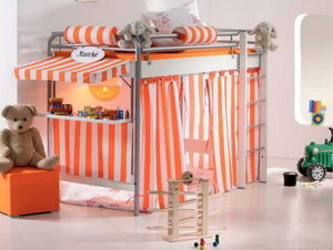 Mezzaline - space concept - Mezzanine Bed Child
