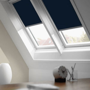 Stores Discount - store compatible velux bleu nuit - 114 / 118 - sto - Interior Roof Window Blind
