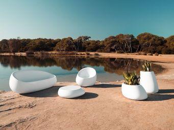 VONDOM - stones - Garden Armchair