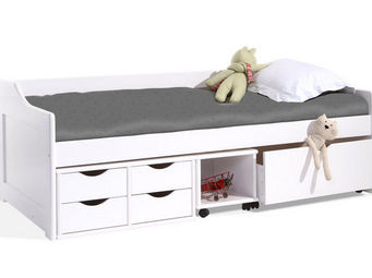 Miliboo - cleo 90x190 - Children's Bed With Drawers