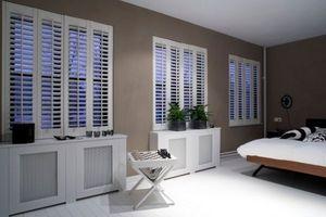 Jasno Shutters - shutters persiennes mobiles - Bedroom