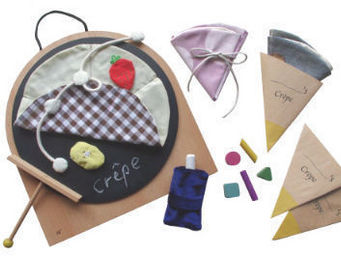 KUKKIA - gg07-crepe shop - Wooden Toy