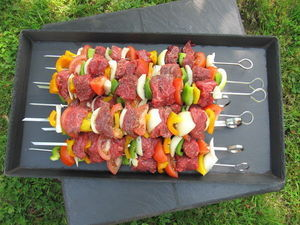 Le Trefle Bleu - gm - Catering Tray