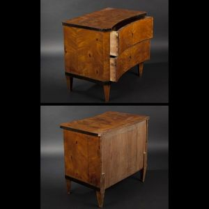 Expertissim - petite commode d'époque biedermeier - Small Chest