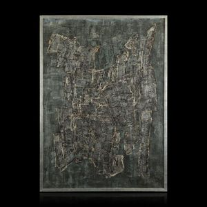 Expertissim - chaim kiewe. composition f. 60 n°5 - Contemporary Painting