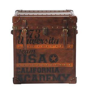 Maisons du monde - malle usa stamps - Trunk