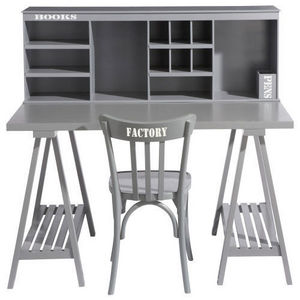 Maisons du monde - bureau enfant gris campus - Children's Desk