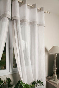 Escapades Champetres - lin contemporain - Eyelet Curtain