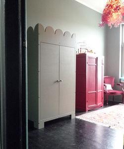 Mie Trampoline - armoire fleur - Children's Wardrobe
