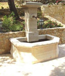 Marbrerie Rouillon - barjac - Wall Fountain