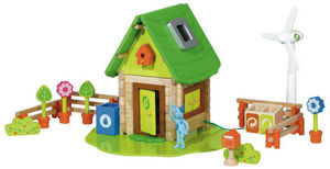 HOUSE OF TOYS - ma maison ecologique - Building Set