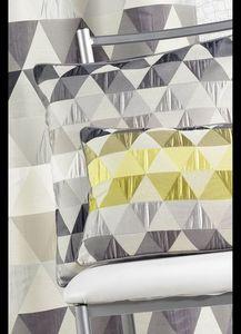 HOMEMAISON.COM - coussin en jacquard aux motifs géométriques rectan - Chair Seat Cover