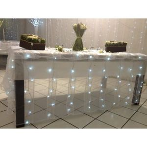 DECO PRIVE - rideaux lumineux a telecommande leds int - Lighting Garland