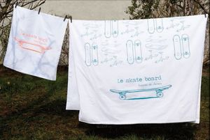 leçons de choses - skate - Children's Bed Linen Set