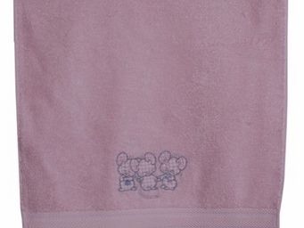 SIRETEX - SENSEI - drap de douche enfant 70x140cm 3 souris roses - Children's Bath Towel