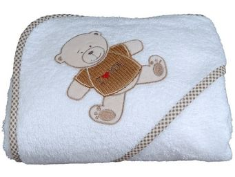 SIRETEX - SENSEI - cape de bain brodée bibou - Hooded Towel