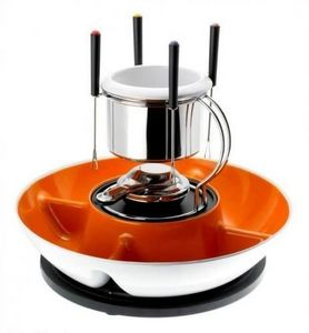 BEKA Cookware - fondue chocolat sir beka en acier inoxydable - 4 p - Chocolate Fondue Set