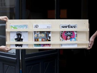 MALHERBE EDITION - porte revues, le simple - Magazine Rack