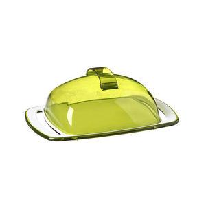 WHITE LABEL - beurrier incassable transparent - Butter Dish